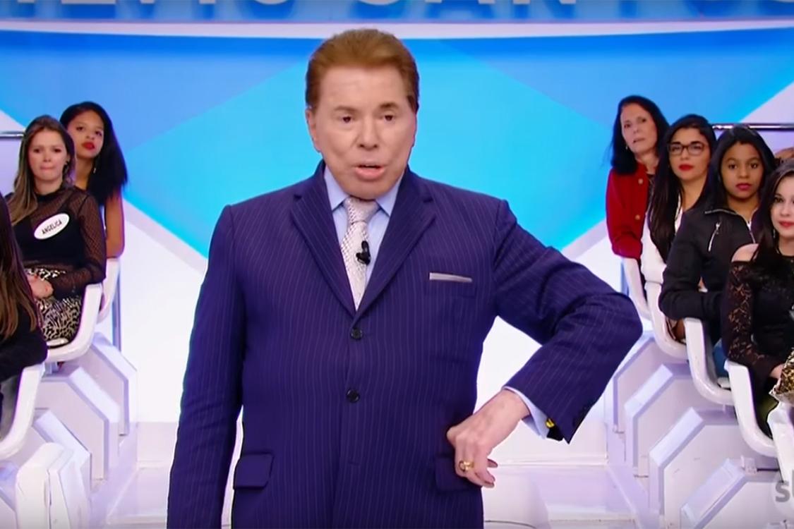 Silvio Santos, apresentador e dono do SBT (Foto: Reprodução)