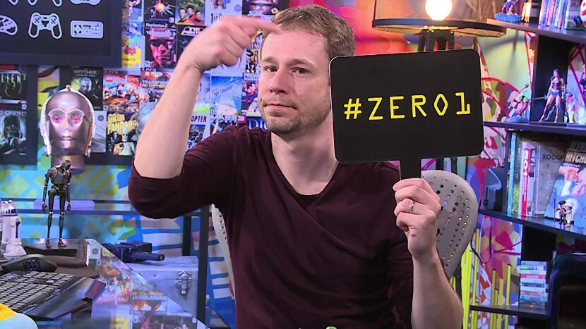 Tiago Leifert apresenta o Zero1 na Globo (Foto: Divulgação)