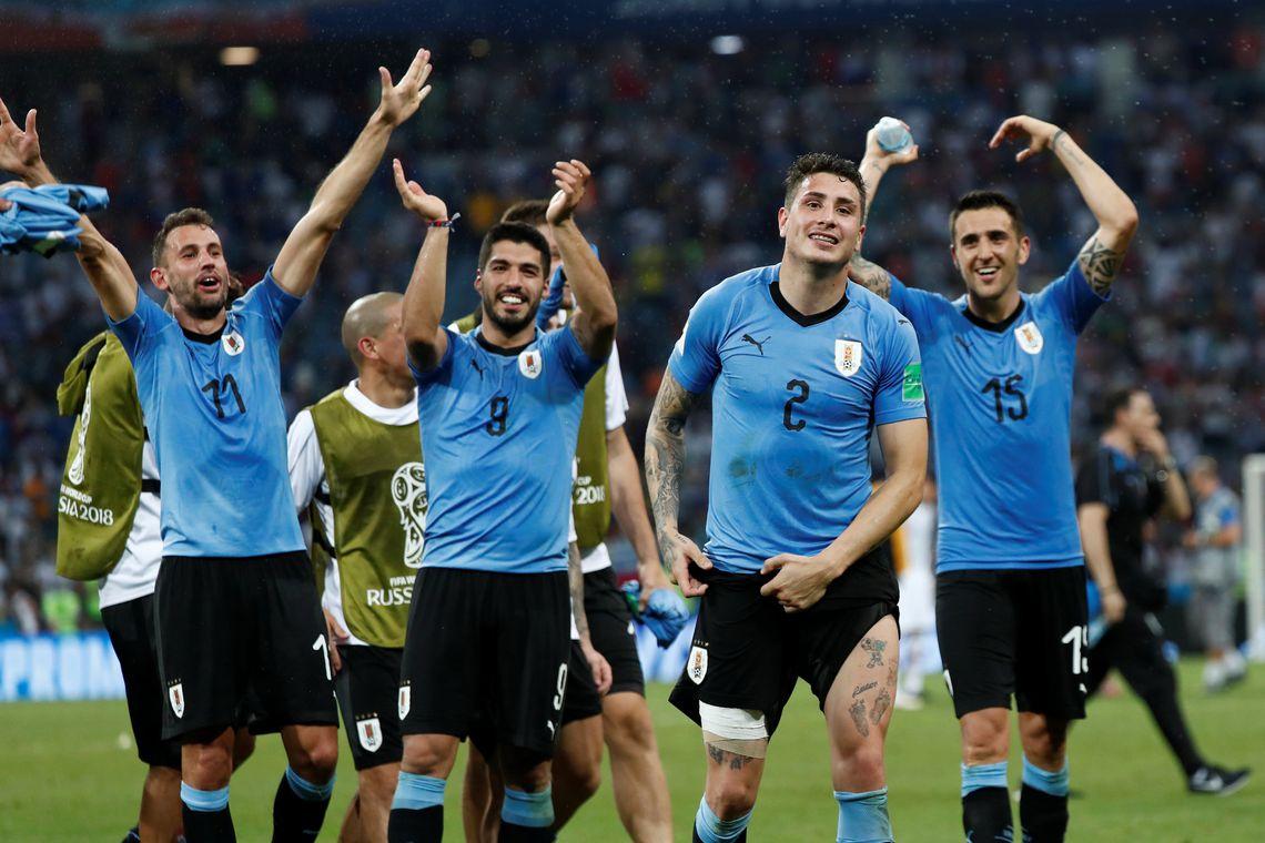 Uruguai elimina Portugal e garante vaga nas quartas de final da Copa do Mundo (REUTERS/Murad Seze/Direitos Reservados/Agência Brasil)