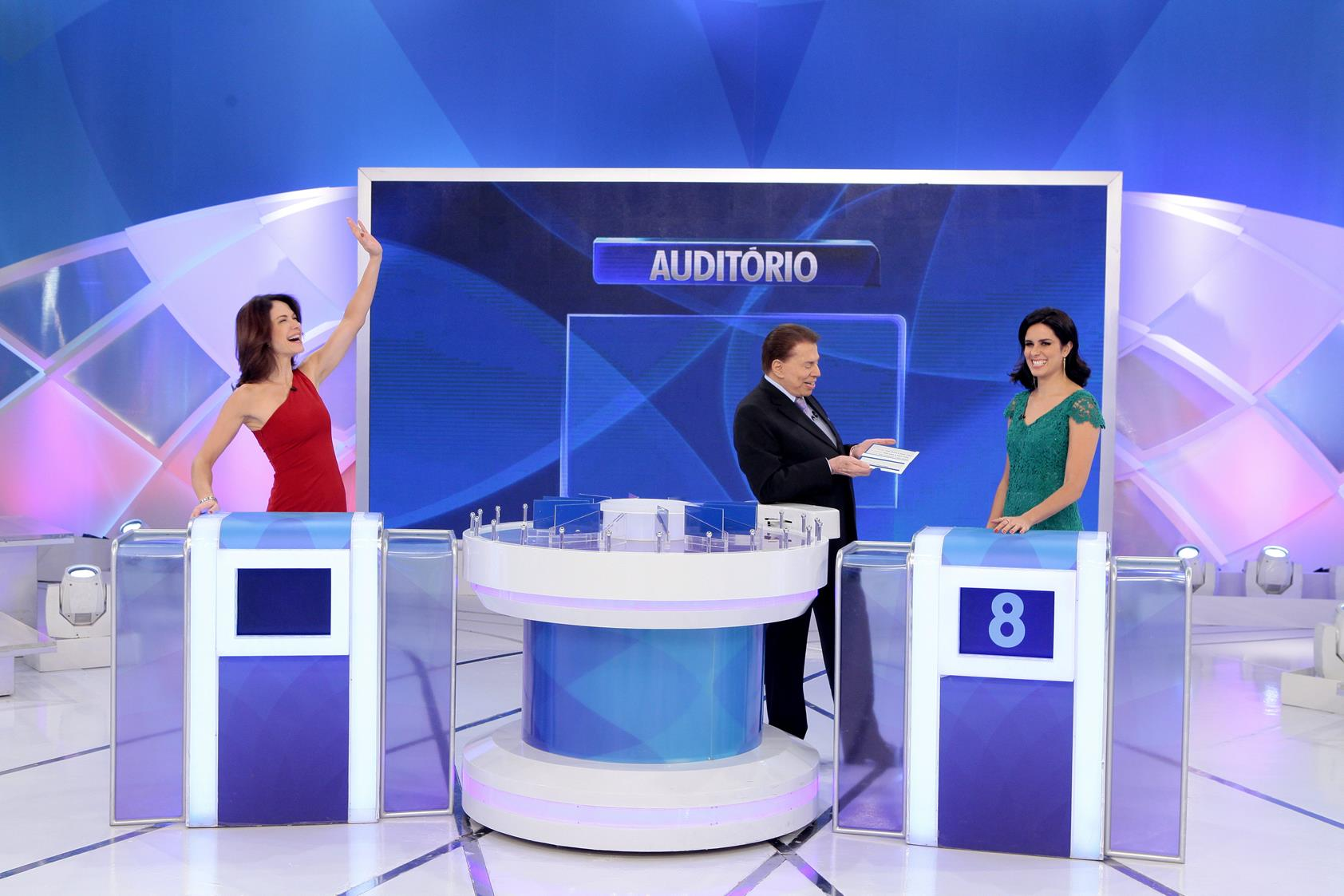 Jogo das 3 pistas com Babi Xavier x Débora Bergamasco | Programa Silvio Santos