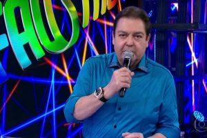 Faustão no comando do Domingão (Foto: Reprodução/Globo)