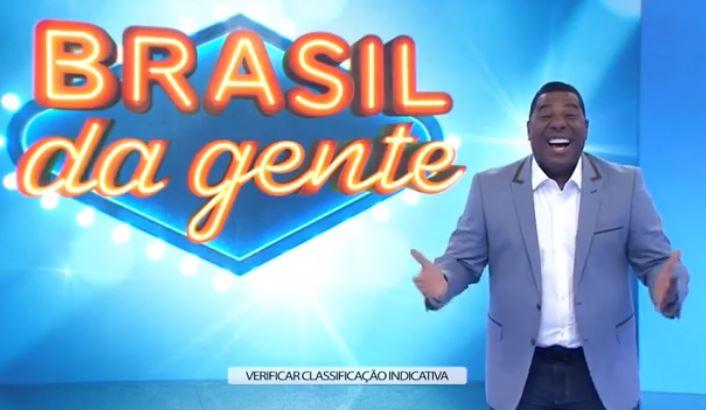 """Netinho no Brasil da Gente, """"novo"""" programa da Band (Foto: Reprodução)"""