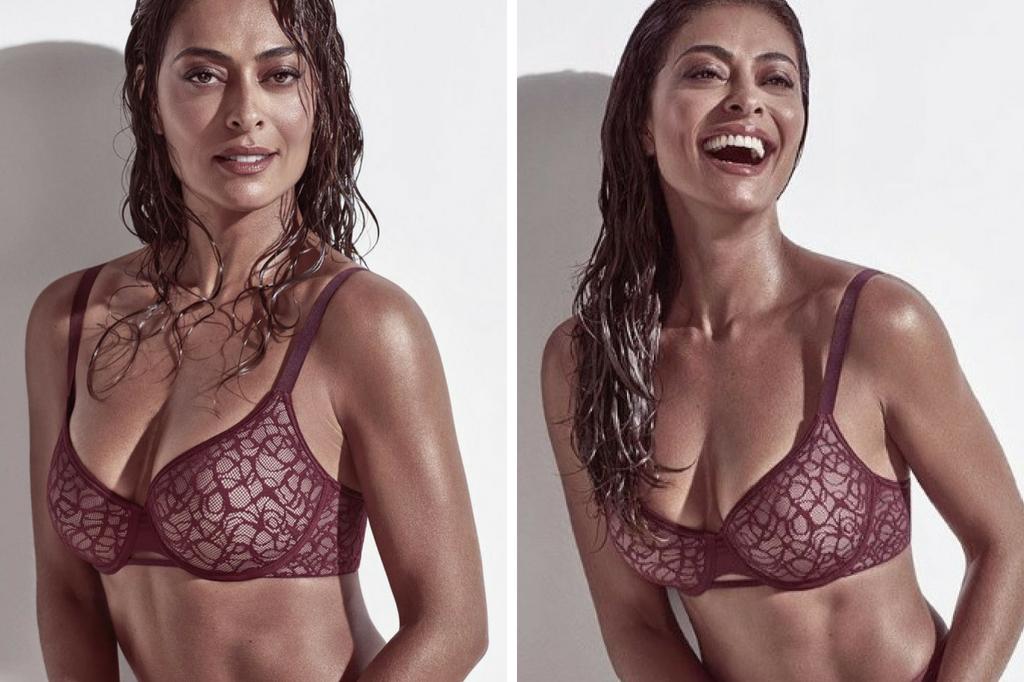 Juliana Paes e sua lingerie (Foto: Reprodução)