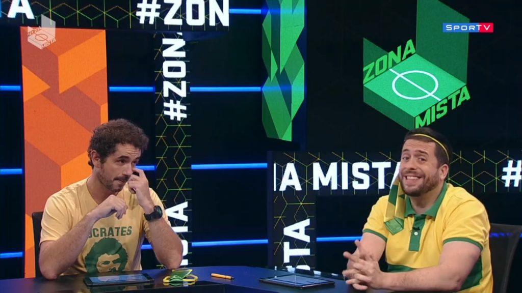 """SporTV, canal do Grupo Globo, fez piada com """"Jesus"""" (Foto: Reprodução)"""