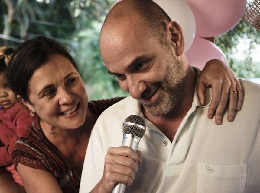 Adriana Esteves e Marco Ricca (Foto: Reprodução)