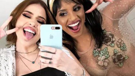 Ana Clara e Gleici (Foto: Reprodução/Instagram)