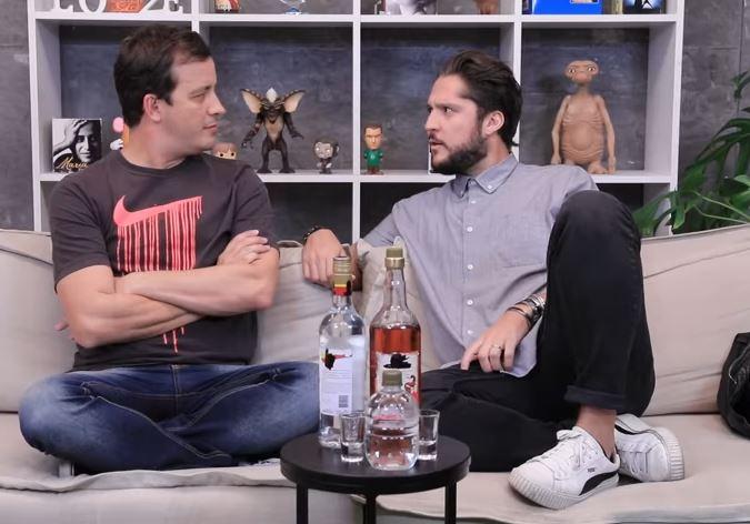 André Vasco foi entrevistado por Rafael Cortez (Foto: Reprodução/YouTUbe)