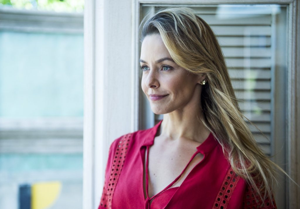A atriz Bianca Rinaldi (Foto: Raquel Cunha/Globo)