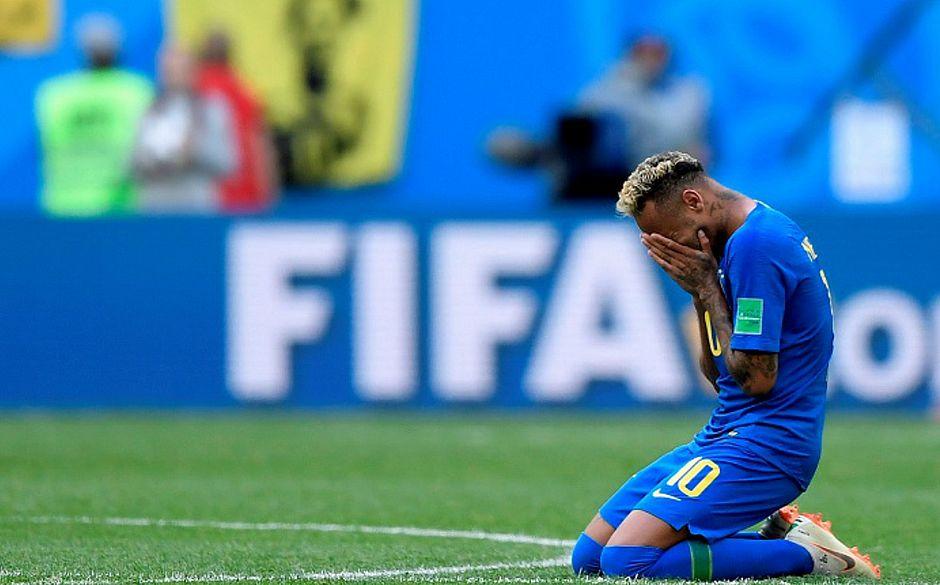 Resultado de imagem para Brasil faz dois nos acréscimos, e Neymar chora em vitória sofrida sobre a Costa Rica