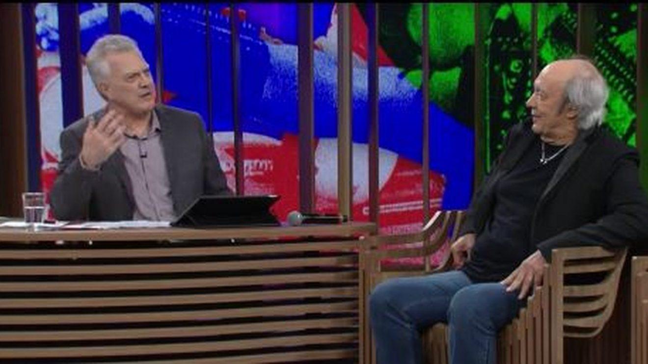 Erasmo Carlos roubou a cena no Conversa com Bial (Foto reprodução)