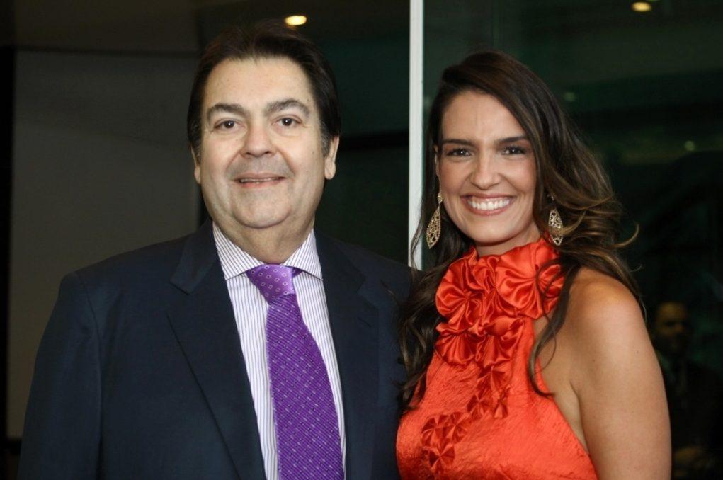 Faustão e Luciana Cardoso (Foto: Divulgação)