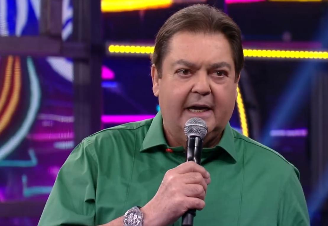 O apresentador Fausto Silva, o Faustão. (Foto: Reprodução/Globo)