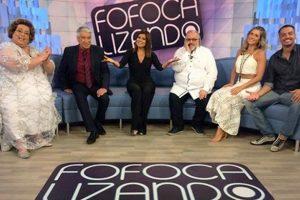 Apresentadores do Fofocalizando (Foto: Reprodução/SBT)