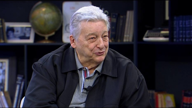 O ator Fúlvio Stefanini no Mariana Godoy Entrevista (Foto: Divulgação/RedeTV!)