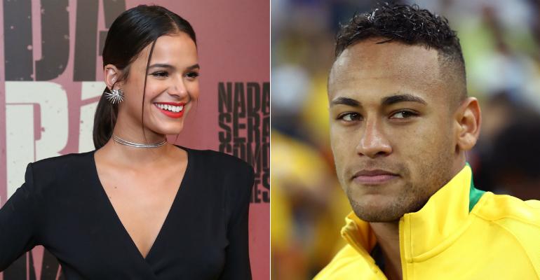 Bruna e Neymar (Foto: Reprodução)