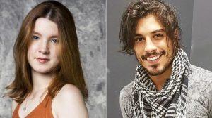 Jeniffer Oliveira e Douglas Sampaio (Foto: Reprodução)