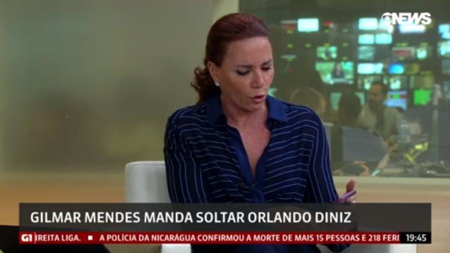 Leilane Neubarth na GloboNews(Foto: Divulgação)