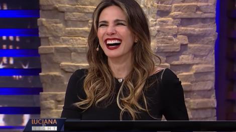Luciana Gimenez no Luciana By Night (Foto: Reprodução/RedeTV)