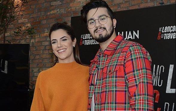 Jade Magalhães e Luan Santana falam sobre intimidade entre eles para Matheus Mazzafera (Foto: Reprodução/Instagram)