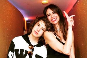 Lucas Jagger e Luciana Gimenez. (Foto: Reprodução/Instagram)