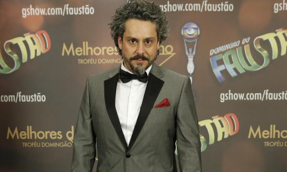 Alexandre Nero em premiação da TV Globo. (Foto: Divulgação)