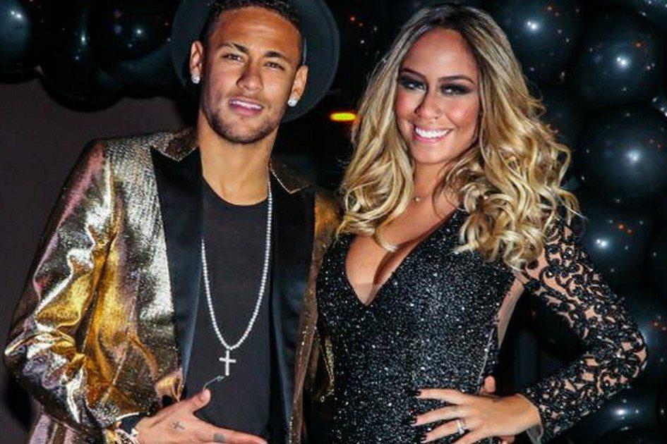 Neymar e a irmã Rafaella (Foto: Reprodução)
