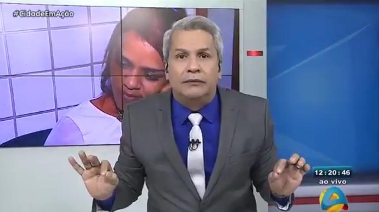O apresentador Sikeira Júnior (Foto: Reproduçã