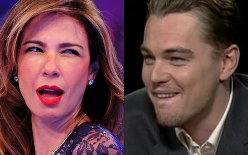 Luciana Gimenez e Leonardo DiCaprio (Foto: Reprodução)