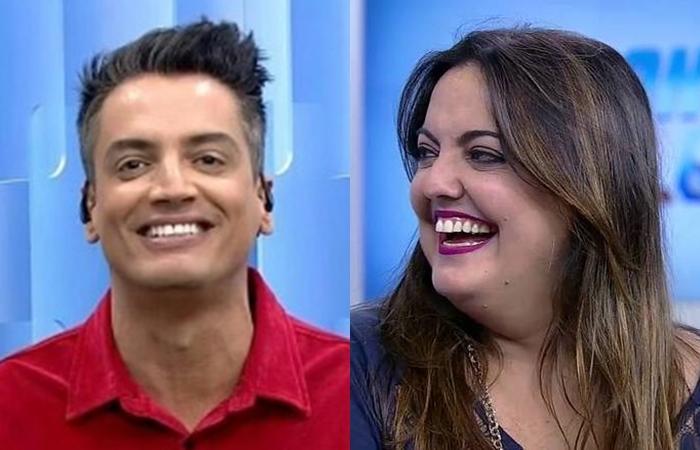 Leo Dias surpreende e anuncia que fará programa com Fabíola Reipert