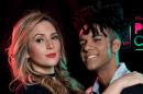 O cantor Vinícius D'Black e Nadja Pessoa (Foto: Reprodução)