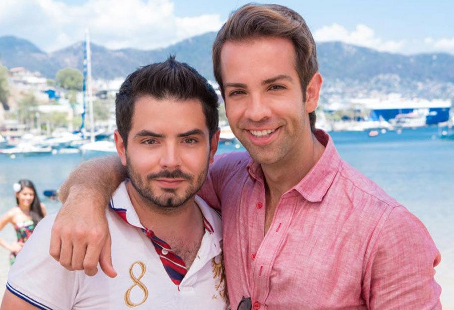José Eduardo Derbez e Diego de Erice estão na novela novela do SBT (Foto: Divulgação)