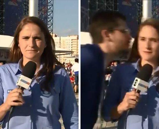 Júlia Guimarães ao vivo em link (Reprodução/Twitter/Veja SP)