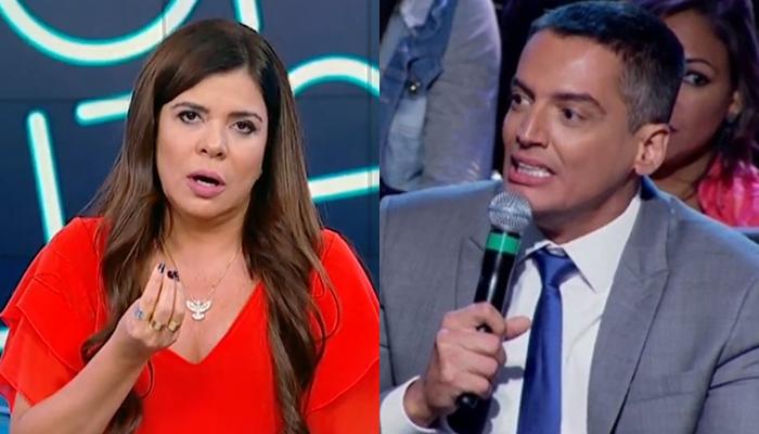 Leo Dias deu entrevista a Leda Nagle e falou sobre Mara Maravilha (Foto: Reprodução/SBT)