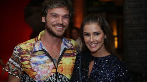 Emílio Dantas e Deborah Secco na festa de lançamento de Segundo Sol (Foto: Artur Meninea/Gshow)