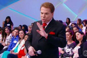 Silvio Santos em seu programa. (Foto: Reprodução/SBT)