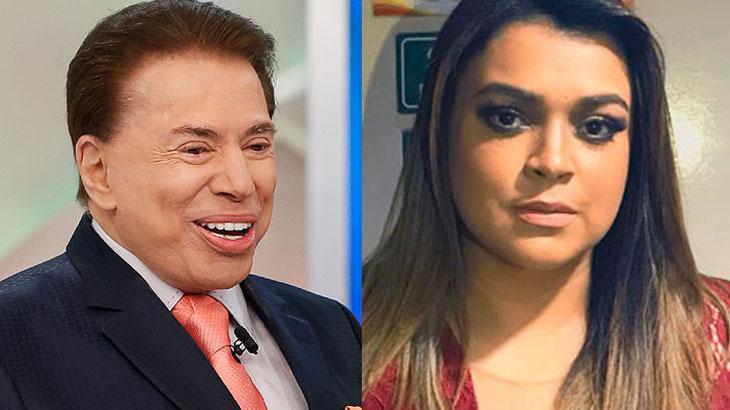 Silvio Santos chamou Preta Gil de gorda. (Foto: Reprodução)