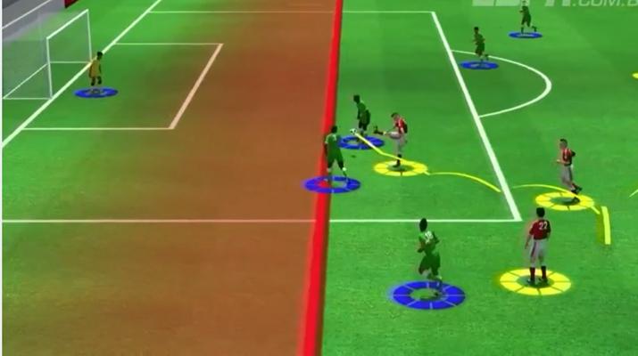 ESPN reproduz gols da Copa em animação 3D. (Foto: Reprodução/ESPN.com.br)