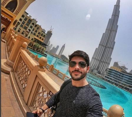 Lucas Fernandes em Dubai (Foto: Reprodução/Instagram)