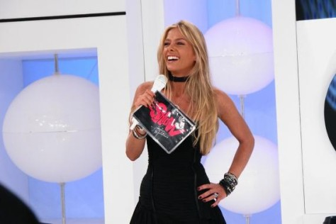 Adriane Galisteu no É Show, programa que comandou na Record (Foto: Divulgação)