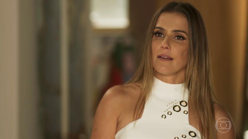 Karola (Deborah Secco) em cena de Segundo Sol (Foto: Reprodução/Globo)