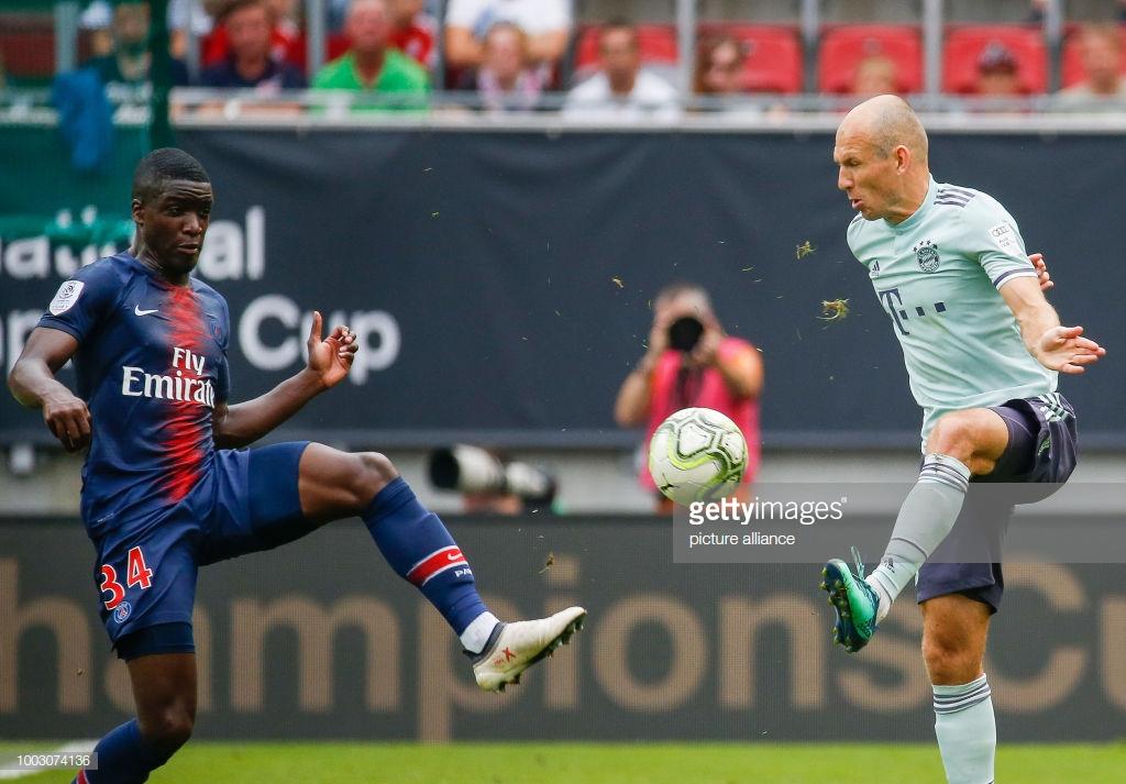 Record News transmitiu jogo entre o Bayern Munich e o Paris Saint-Germain (Foto: Reprodução)