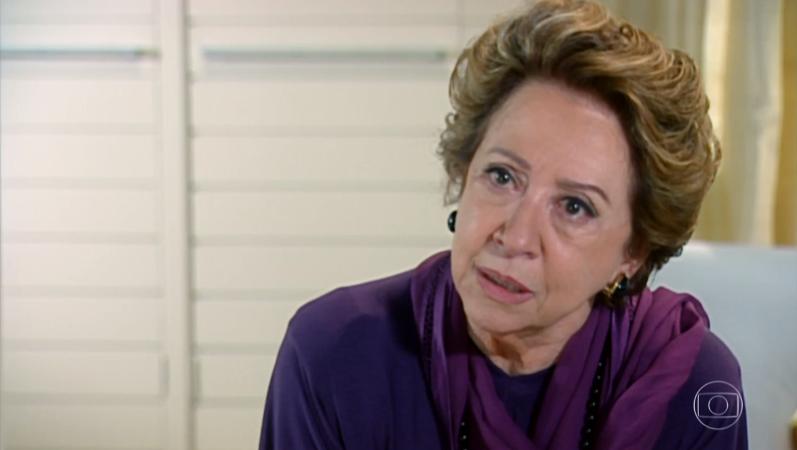 Bia Falcão (Fernanda Montenegro) em cena de Belíssima (Foto: Reprodução/Globo)