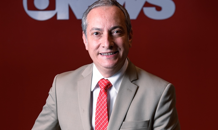 José Roberto Burnier, apresentador do GloboNews Em Ponto (Foto: Globo/Ramon Vasconcelos)