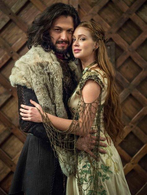 Foto do casamento de Amália e Afonso em Deus Salve o Rei (Foto: Divulgação)