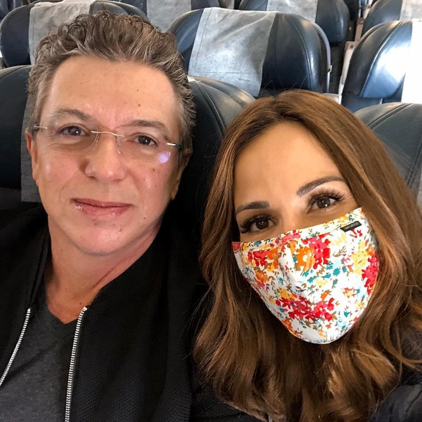 Boninho e Ana Furtado (Foto: Reprodução)