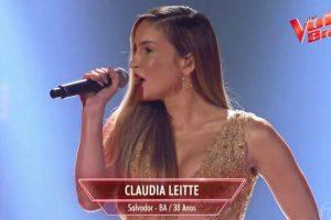 Claudia Leitte no The Voice (Foto: Reprodução)