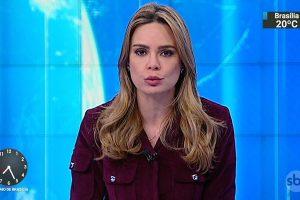 A apresentadora Rachel Sheherazade no SBT Brasil (Foto: Reprodução/SBT)