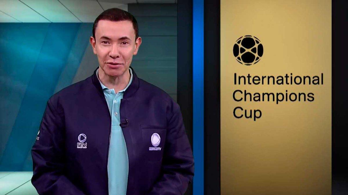 Jogo da Champions Cup foi exibido pela Record News (Foto: Divulgação)