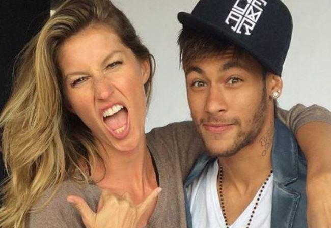 Gisele Bündchen e Neymar (Foto: Reprodução)