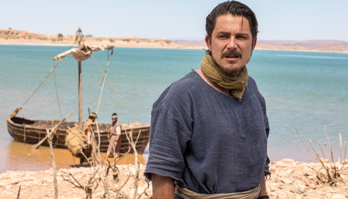Petrônio Gontijo como Pedro em Jesus, próxima novela bíblica da Record (Foto: Edu Moraes/Record)